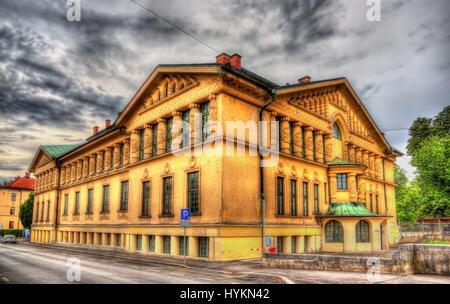 Sokolski dom Tabor à Ljubljana - Slovénie Banque D'Images