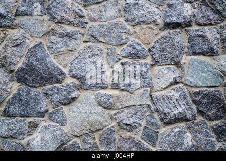 Le mur de pierre seamless texture motif Banque D'Images
