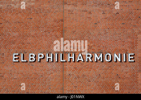 Elbe Philharmonic Hall, HafenCity, Hambourg, Allemagne Banque D'Images