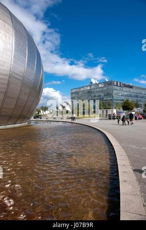 Centre des sciences de Glasgow, Glasgow, Royaume-Uni Banque D'Images