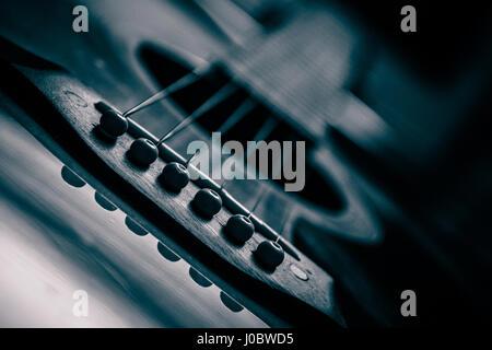 Guitare acoustique, guitare, guitare électrique Banque D'Images