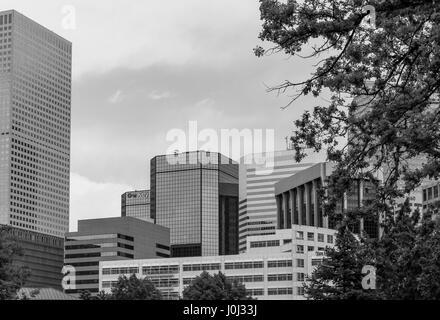 Denver, États-Unis - 25 mai 2016: partie de l'exercice financier et du quartier des affaires au centre-ville de Banque D'Images