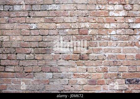 Grand mur de brique vintage pour les fonds et textures Banque D'Images