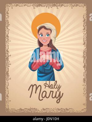 Sainte Marie sainte card