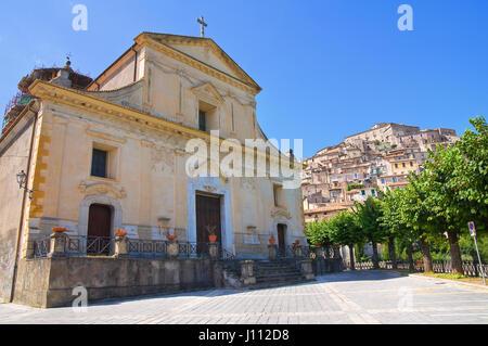 Église de Saint Maria Maddalena. Morano Calabro. La Calabre. L'Italie. Banque D'Images