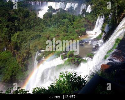 D'Iguazu, Argentine, Brésil Banque D'Images