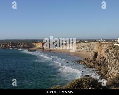 plage et jaillissants Banque D'Images
