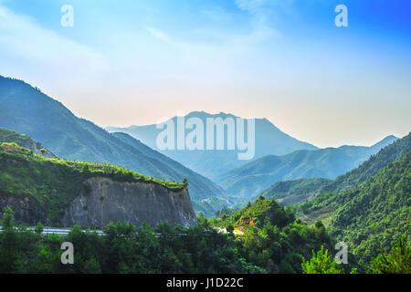 Phoenix Mountain en Fuding City,Guangdong Province, China Banque D'Images