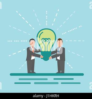Idée. Business concept illustration. Banque D'Images