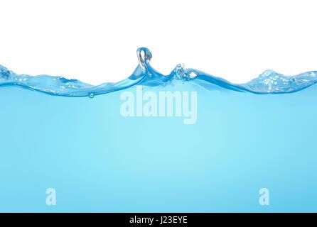 Isolé de l'eau vague Banque D'Images