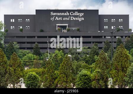 SCAD (Savannah College of Art and Design) Atlanta Midtown en Atlanta, Georgia, USA. Banque D'Images