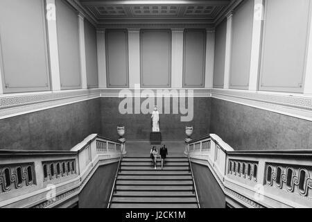 British Museum Grand escalier Banque D'Images