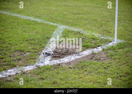 Marquage de coin Soccer