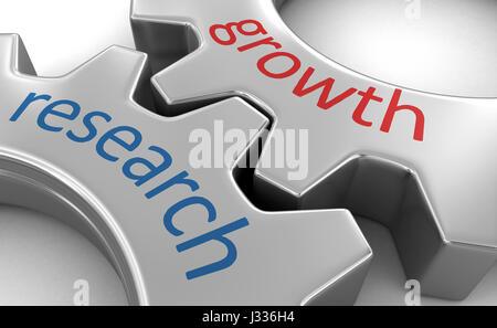 Concept d'affaires sur les roues dentées. Image avec clipping path Banque D'Images
