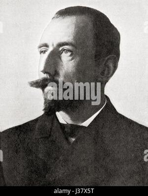 Roald Engelbregt Gravning Amundsen, 1872 - 1928. L'explorateur norvégien des régions polaires, chef de l'expédition Banque D'Images
