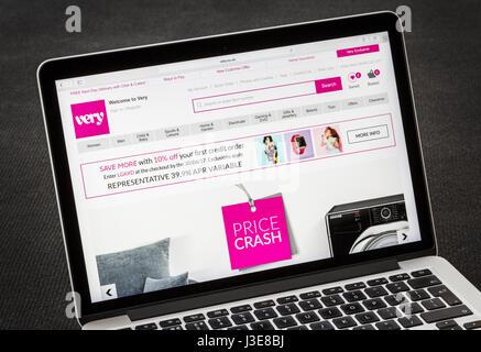 Site Web très Banque D'Images