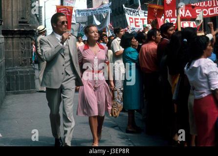L'Assassinat de Trotsky Année: 1972 - UK Directeur: Joseph Losey Romy Schneider, Alain Delon Banque D'Images