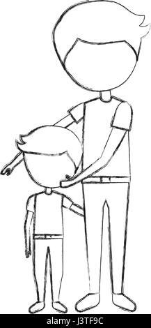 Avec père fils avatars