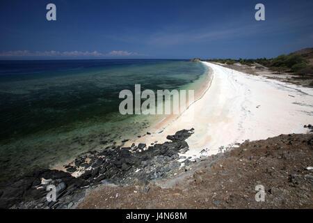 République démocratique du Timor oriental, Dili, un dollar de plage, Banque D'Images