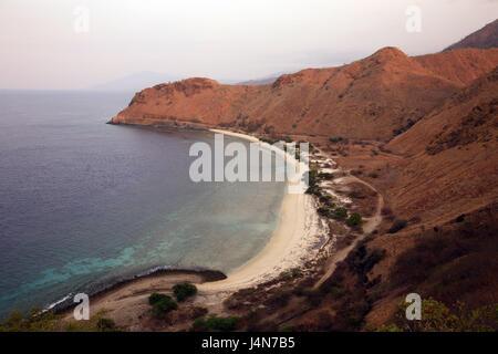 République démocratique du Timor oriental, Dili, Cap-Fatucama, paysages côtiers, Banque D'Images