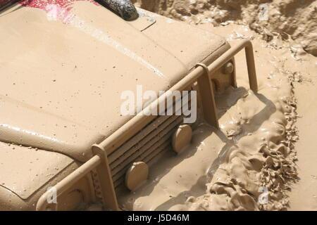 Jeep en action Banque D'Images