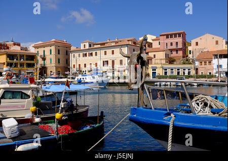 La Maddalena, en Sardaigne, Italie Banque D'Images