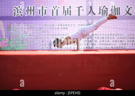 Binzhou, Binzhou, Chine. 14 mai, 2017. Binzhou, CHINE - 14 mai 2017: (usage éditorial uniquement. Chine).Des milliers Banque D'Images