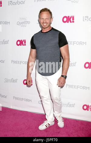 Los Angeles, CA, USA. 17 mai, 2017. Ian Ziering aux arrivées pour OK! Lancement du magazine de l'été, l'hôtel W Banque D'Images