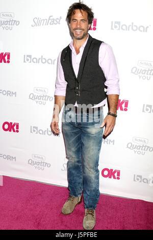 Los Angeles, CA, USA. 17 mai, 2017. Shawn Christian aux arrivées pour OK! Lancement du magazine de l'été, l'hôtel Banque D'Images