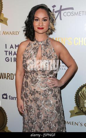 Hollywood, CA, USA. 17 mai, 2017. 17 mai 2017 - Hollywood, Californie - Carmen Perez. 2017 Women's Choice Award Banque D'Images