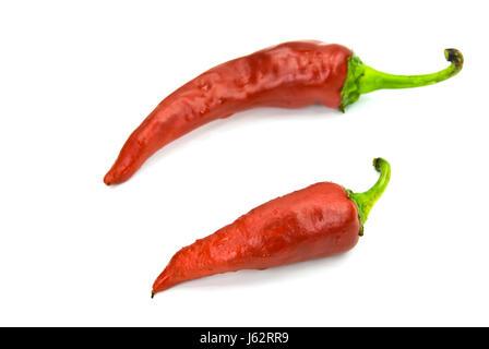 Poivrons rouges poivrons paprika chili chili italienne nourriture aliment doucement Banque D'Images