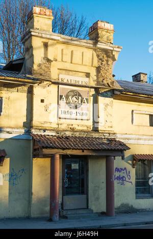 Asie Boutique à Pohja Puiestee à Tallinn Estonie Banque D'Images