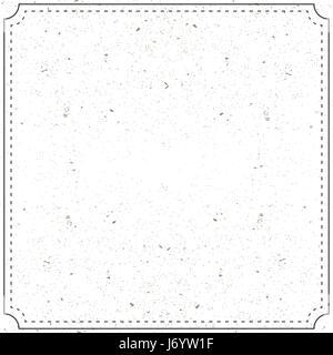 Cadre photo réaliste isolé sur fond blanc Banque D'Images