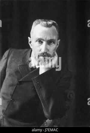 PIERRE CURIE (1859-1906) Physicien français en 1906 Banque D'Images