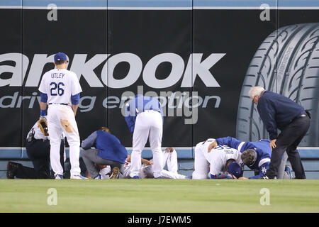 Los Angeles, CA, USA. 24 mai, 2017. Le Dodger Stadium à Los Angeles, CA. Peter Renner and Co /CSM/Alamy Live News Banque D'Images