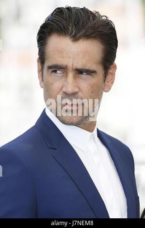 Cannes, Frankreich. 24 mai, 2017. Colin Farrell à 'la séduisit/Die Verführten' photocall au cours de la 70e édition Banque D'Images