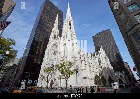 La Cathédrale St Patrick, New York City USA