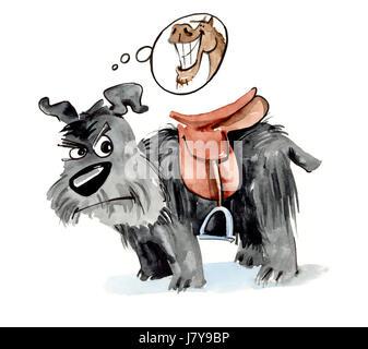 """Résultat de recherche d'images pour """"chien avec selle + humour"""""""