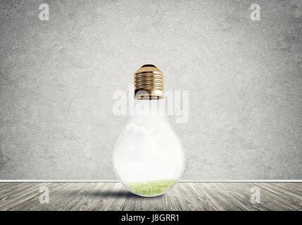 Ampoule dans prix Banque D'Images