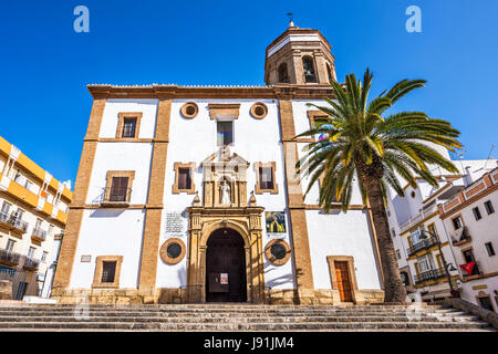 Iglesia de Nuestra Señora de la Merced à Ronda, Andalousie, Espagne, Europe Banque D'Images