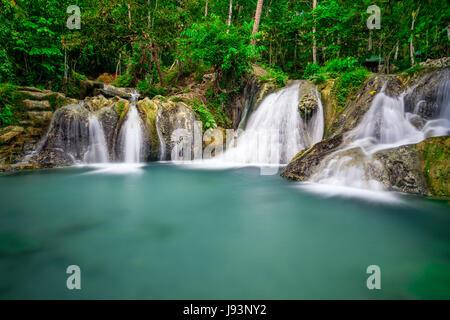 Hagimit Falls Banque D'Images