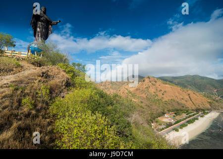 Cristo Rei de Dili statue, Dili, Timor oriental, en Asie du Sud-Est, l'Asie