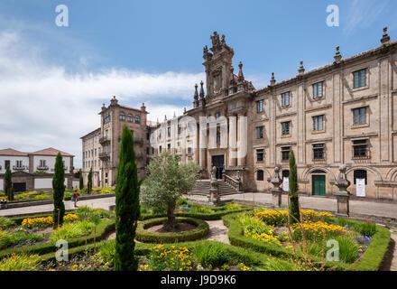 Casa de la Inmaculada, Santiago de Compostelle, La Corogne, Galice, Espagne, Europe