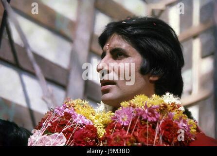 Les acteurs de Bollywood indien, Amitabh Bachchan, l'Inde, l'Asie