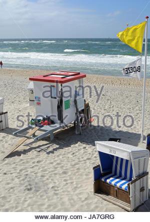 Plage, mer, la plage, mer, eau, mer du Nord, de l'eau salée, mer, océan, Banque D'Images