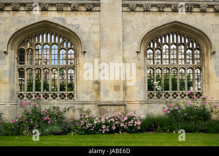 La façade du King's College à Cambridge