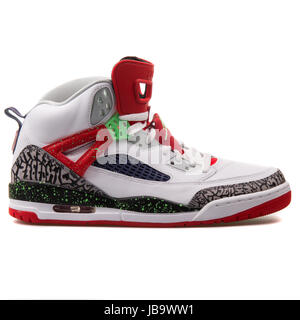 Blanc Chaussures Noir Spizike Rouge Fluo Vert Jordan Nike de et H8xEwxq