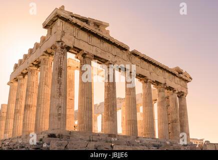 Parthénon de l'Acropole, Athènes, Grèce Banque D'Images