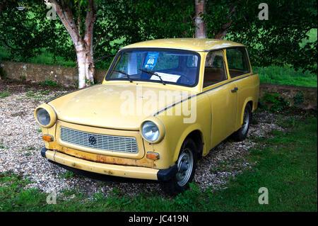 Trabant 601 voiture de l'Allemagne de l'Est Banque D'Images