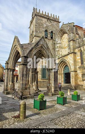 Guimarães est une ville portugaise de Braga, au nord du district et sous-région Ave. connu comme le berceau du Banque D'Images